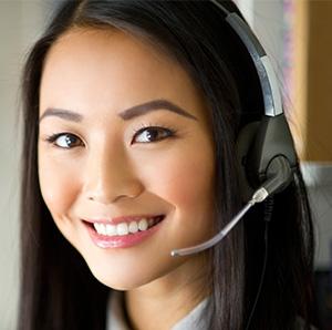 yuyang-kundenservice-call-center-dame